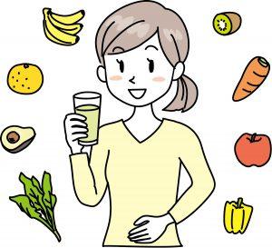 酵素で便秘や体質改善